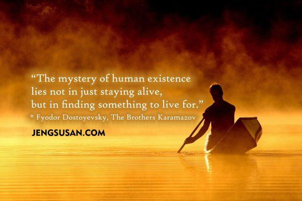 Apakah arti hidup dan tujuan hidup manusia